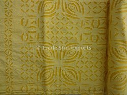 Applique Cutwork Work Bedspread