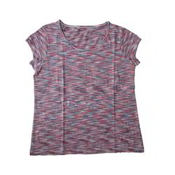Space Dyed Fabric Womens Top