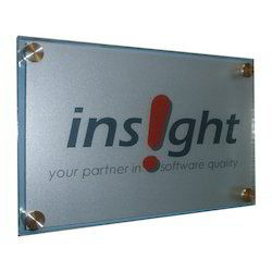 Acrylic Promotional Name Plate