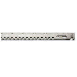 Square Teeth Mechanical Serrated Bars