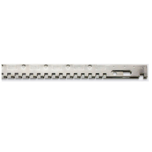 SRT Mild Steel Square Teeth Mechanical Serrated Bars