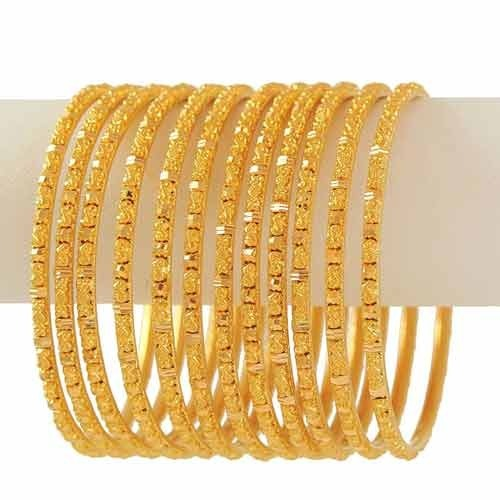 Gold Bangles Designs With Indian Price
