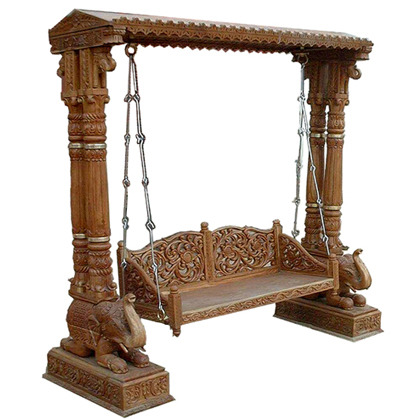 Wooden Carved Swing Furniture. Wooden Carved Swing Furniture  Decorative Home Furniture