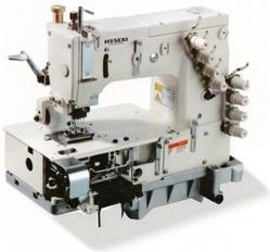 Flat Bed Multi-Needle Sewing Machine With Elastic Device