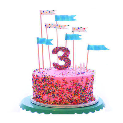 Fabulous Number Cake Topper Anniversary Cake Tag Birthday Cake Tag Funny Birthday Cards Online Inifofree Goldxyz