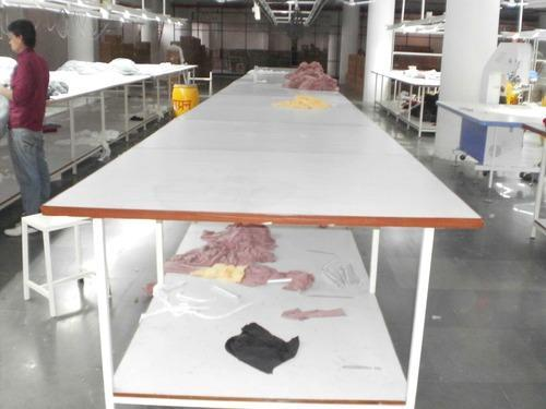 Sliding Cloth Cutting Table