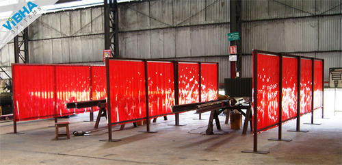 Welding Pvc Strip Curtains Vibha Systems Manufacturer