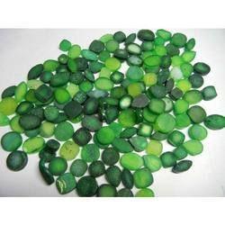 Natural Green Druzy Gemstone