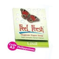 Lime Feel Fresh Soap Strips