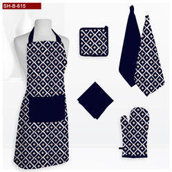 Navey Printed Kitchen Linen Set