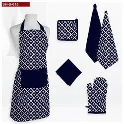 Navey Printed Kitchen Linen Set