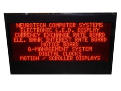 Digital Electronic Notice Board, Frame Material: Premium Aluminium, Pixel Density: 6