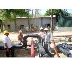 Dia HDPE Pipe Line Fitting Service