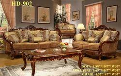 Kinsey Wooden Sofa Set