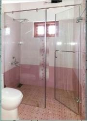 Glass Partition Modern Bathroom Partitions Manufacturer From Thrissur - Custom bathroom partitions