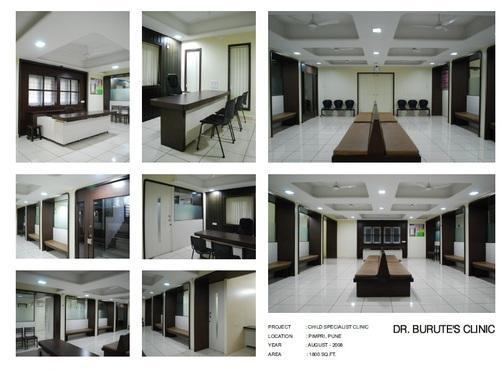 Clinic Interior Designing And Decoration Services In Pimpri Colony