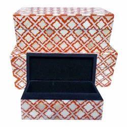 Bone Acrylic Jewelry Box