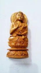 Sandalwood Rosary Buddha Statue
