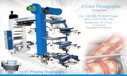 Flexographic Printing Machine Six Color