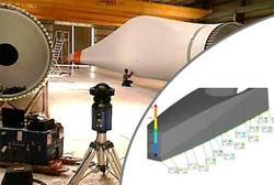 Laser Tracer for Wind Turbine Blade Inspection