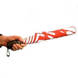 绸缎双折伞