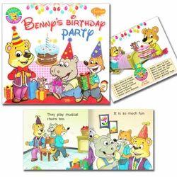 Manoj Publications Benny's Birthday Party Book