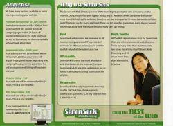 Advertising Pamphlet Printing Service