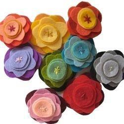 Felt Rose Flower