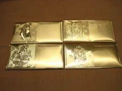 Gold Plated Envelopes