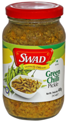 Swad Green Chilly Pickle