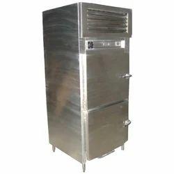 SG Fabs Glass Top Two Door Freezer