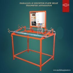 Parallel and Counter Flow Heat Exchanger