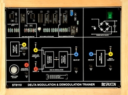 Delta Modulation and Demodulation Trainer - ST8110