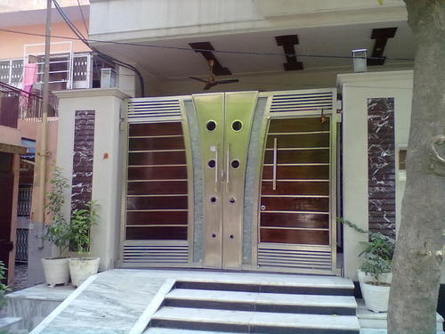 Ss Designer Main Gate View Specifications Details Of Stainless