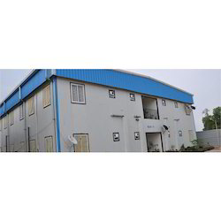 Sloping Roof Factory Shed