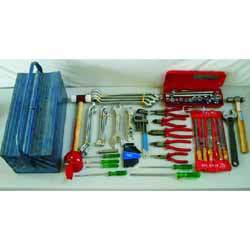 tool box with tools complete set 2w taparia