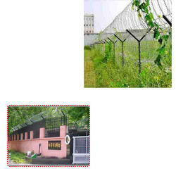 Razor Blade Fencing Wire for Government Organizations