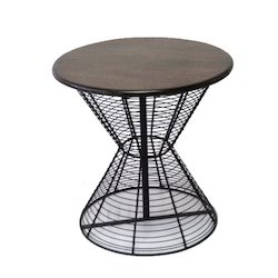 Iron Wood Stool