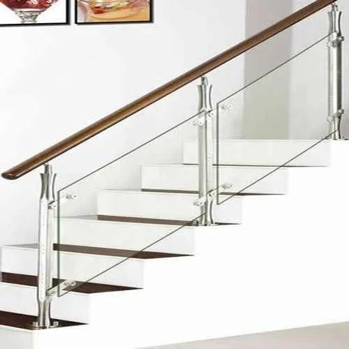 SS Glass Handrail, Ss Glass Handrail | Ambattur Industrial ...
