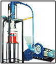 DiscMill in Plastic Grinding System for Roto Moulding Powder