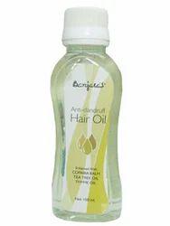 Herbal Natural Anti Dandruff Hair Oil, Packaging Size: 50 ml