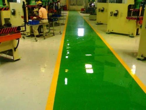 Industrial Epoxy Floor Coating Service