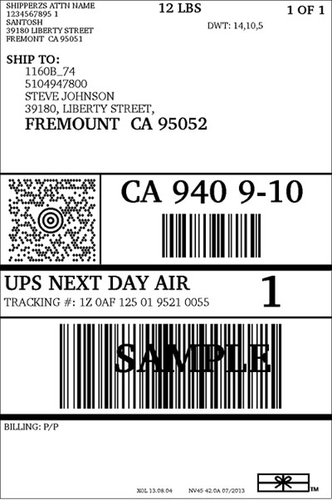 Print Shipping Labels With Ups Shipgenie Manufacturer