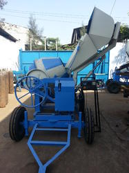 Digital Weight Hydraulic Concrete Mixer