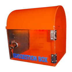 Top Round Suggestion Box