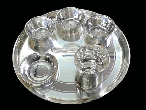 Silver Plated Utensils - Silver Plated Dinner Set Manufacturer from Kalyan & Silver Plated Utensils - Silver Plated Dinner Set Manufacturer from ...