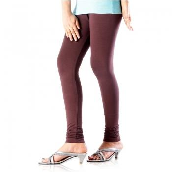 40117986f5f54 Castle Coffee Brown Cotton-Lycra Legging - Global ETree Services ...