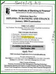 Diploma in Banking & Finance