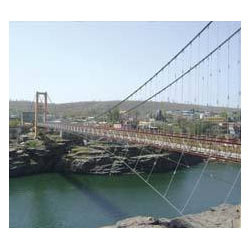 Wire Rope Suspension Bridge, Wire Rope Suspension Bridge in ...