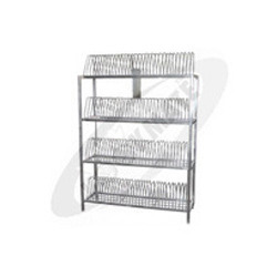 SS Plate Stacking Rack